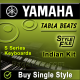 Gham uthane ke liye main to - Yamaha Tabla Style/ Beats/ Rhythms - Indian Kit (SFF1 & SFF2)