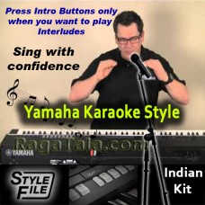 Aaja re main toh kab se - Yamaha KARAOKE STYLE/ Beats/ Rhythms - Indian Kit (SFF1 & SFF2)